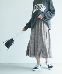 coca/小花柄フレアロングスカート/503561716