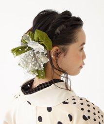 FURIFU/【KIMONO姫(16)掲載】ヘアクリップ「オ―ガンチュールリボン」 / 髪飾り 卒業式 成人式/503462206