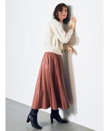 SNIDEL/レザープリーツスカート/503562542