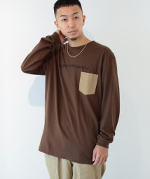 BEAMS MEN/【SPECIAL PRICE】BEAMS T / MILITARY INTELLIGENCE ポケット ロングスリーブ Tシャツ/503562559