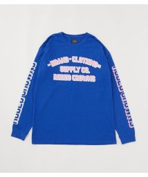 RODEO CROWNS WIDE BOWL/LETTER PRESS L/S Tシャツ/503562909