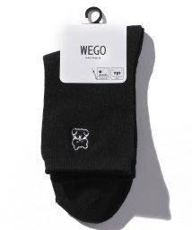 WEGO/手書き風ワンポイントソックス/503347750