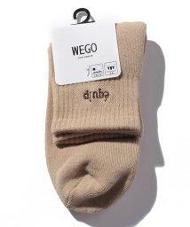 WEGO/equipロゴソックス/503347753