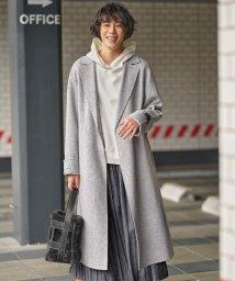 JIYU-KU(LARGE SIZE)/MANTECO FEMININE REVER コート/503564034