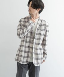 URBAN RESEARCH/URBAN RESEARCH Tailor キャンバスチェックジャケット/503564335