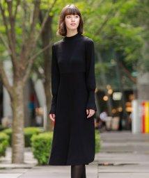 LOVELESS WOMEN/サイドジップ リブコンビ ドレス/503506332