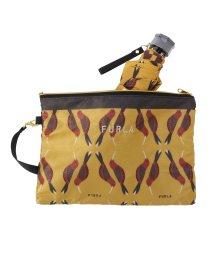 FURLA/FUR 婦人ミニP30Dサテンプリント吸水袋ミニ/503534911