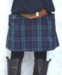 osharewalker/『nOrブラックウォチデザインスカート』/503565344