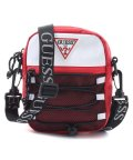 GUESS/ゲス GUESS MOUNTAINEER Nylon Crossbody (RED)/503565514
