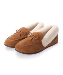 FITFLOP/フィットフロップ fitflop CLARA SHEARLING MOCCASIN (Tumbled Tan)/503565988