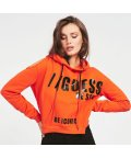 GUESS/ゲス GUESS Alyse Fleece Parka (FRENCH ORANGE)/503567777