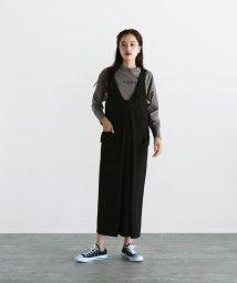 LASUD/LASUD ベルトデザインジャンパースカート/503565851
