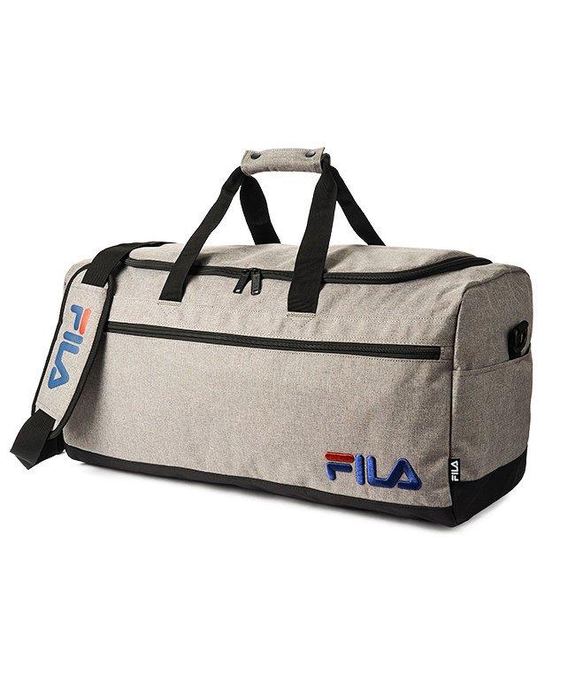 カバンのセレクション フィラ ボストンバッグ 50L FILA 7514 修学旅行 林間学校 男子 女子 男の子 女の子 かわいい ユニセックス グレー フリー 【Bag & Luggage SELECTION】