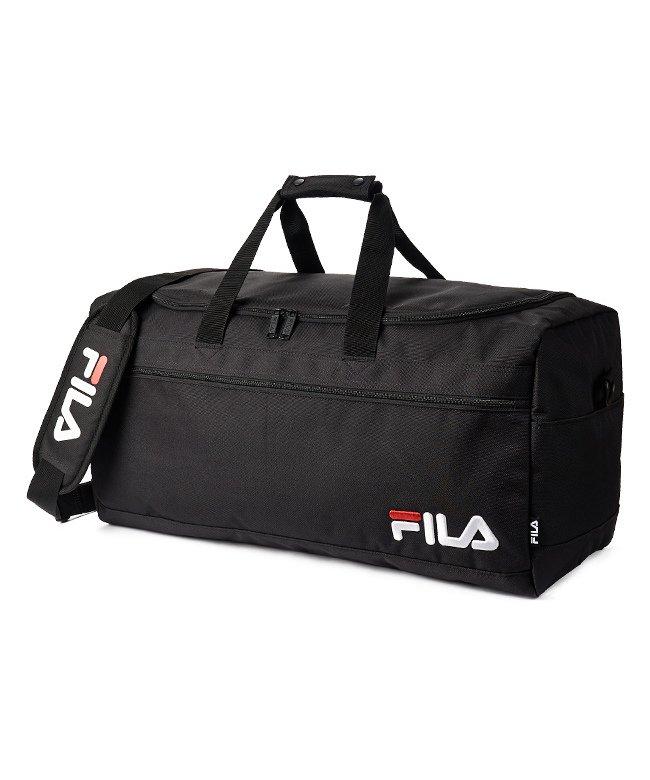 カバンのセレクション フィラ ボストンバッグ 50L FILA 7514 修学旅行 林間学校 男子 女子 男の子 女の子 かわいい ユニセックス ブラック フリー 【Bag & Luggage SELECTION】