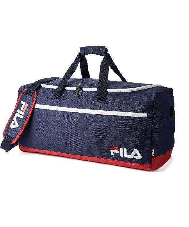 カバンのセレクション フィラ ボストンバッグ 50L FILA 7514 修学旅行 林間学校 男子 女子 男の子 女の子 かわいい ユニセックス ネイビー フリー 【Bag & Luggage SELECTION】