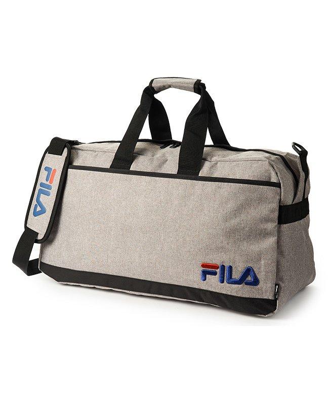 カバンのセレクション フィラ ボストンバッグ 58L FILA 7515 修学旅行 林間学校 男子 女子 男の子 女の子 かわいい ユニセックス グレー フリー 【Bag & Luggage SELECTION】