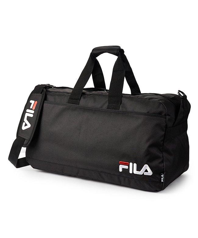 カバンのセレクション フィラ ボストンバッグ 58L FILA 7515 修学旅行 林間学校 男子 女子 男の子 女の子 かわいい ユニセックス ブラック フリー 【Bag & Luggage SELECTION】