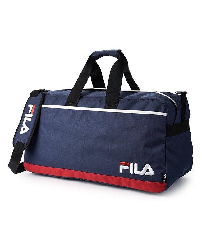 カバンのセレクション フィラ ボストンバッグ 58L FILA 7515 修学旅行 林間学校 男子 女子 男の子 女の子 かわいい ユニセックス ネイビー フリー 【Bag & Luggage SELECTION】