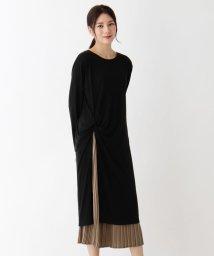 SHOO・LA・RUE/ねじりワンピース×プリーツスカートセット/503569724