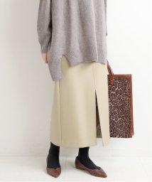 IENA/《予約》メルトンロングスリットスカート◆/503571224