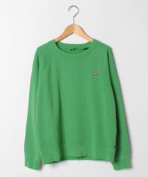 LEVI'S LADY/RELAXED GRAPHIC CREW ISLAND GREEN WASH I/503536988