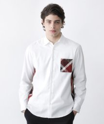 BLACK LABEL CRESTBRIDGE/サイドチェックシャツ/503558500