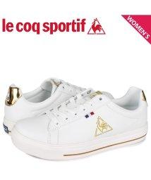 lecoqsportif/ルコック スポルティフ le coq sportif テルナ バウンド コート スニーカー レディース TELUNA BOUND COURT ホワイト 白 QL/503568539