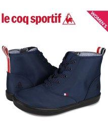 lecoqsportif/ルコック スポルティフ le coq sportif テルナブーツ シューズ レインシューズ レディース TELUNA BOOT SK MID 2 ネイビー Q/503568542