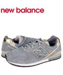 newbalance/ニューバランス new balance 996 スニーカー メンズ Dワイズ グレー CM996BF/503568547