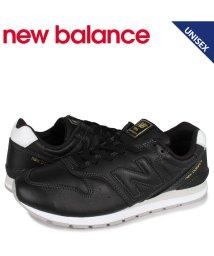 newbalance/ニューバランス new balance 996 スニーカー メンズ レディース Dワイズ ブラック 黒 CM996LTB/503568548