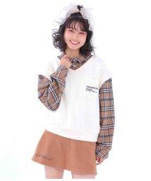 ANAP GiRL/フェイクレイヤードベストシャツ/503571819