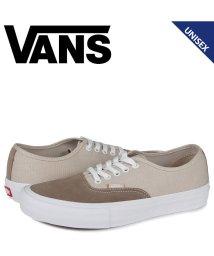 VANS/VANS ヴァンズ オーセンティック プロ スニーカー メンズ レディース バンズ AUTHENTIC PRO グレー VN0A3479W5K/503571994
