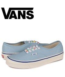 VANS/VANS ヴァンズ オーセンティック スニーカー メンズ バンズ AUTHENTIC 44 DX ブルー VN0A38ENWO6/503571995