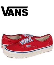 VANS/VANS ヴァンズ オーセンティック スニーカー メンズ バンズ AUTHENTIC 44 DX レッド VN0A38ENWO8/503571997