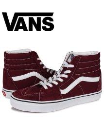 VANS/VANS ヴァンズ SK8-HI スニーカー メンズ バンズ スケートハイ スケハイ ワイン レッド VN0A4U3C5U7/503572025