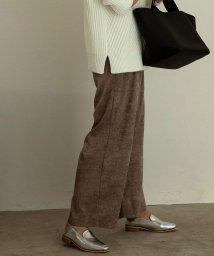 marjour/FOIL WIDE PANTS/503575302