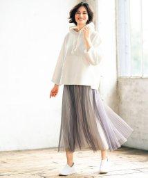 JIYU-KU /【UNFILO】チュール&サテン リバーシブルスカート(検索番号:UG24)/503575882