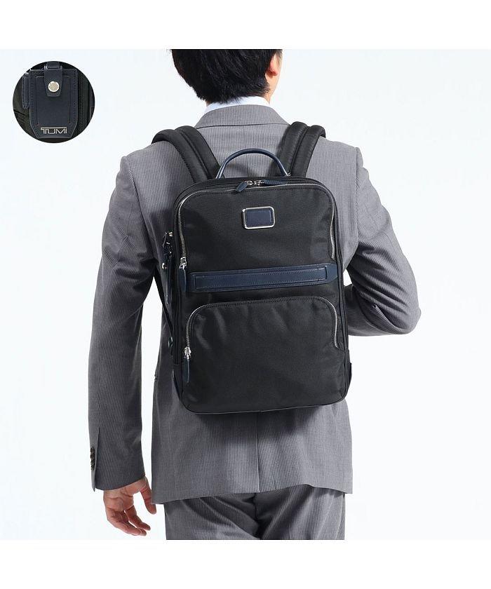 ギャレリア トゥミ リュック TUMI ビジネスバッグ JARVIS スリム・バックパック Slim Backpack 薄型 通勤 0682404 ユニセックス ブラック F 【GALLERIA】