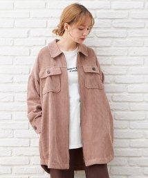 INGNI/コーデュロイチュニックシャツジャケット                   /503576183