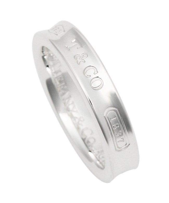ティファニー ティファニー リング アクセサリー TIFFANY & Co. 1837 ナローベーシックリング SS 指輪 シルバー レディース その他 US6(約11号) 【Tiffany & Co.】