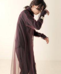 Bou Jeloud/【WEB限定】メローシアーインナーワンピース/503557318