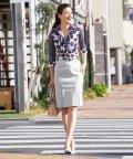 NARA CAMICIE/【セットアップ対応商品】ポンチタイトスカート/503585038