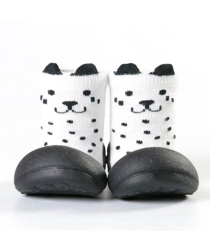 フットプレイス アティパス Attipas ベビー 靴下 シューズ プレゼント ギフト AP−2700 キッズ ホワイト L(12.5cm) 【FOOT PLACE】