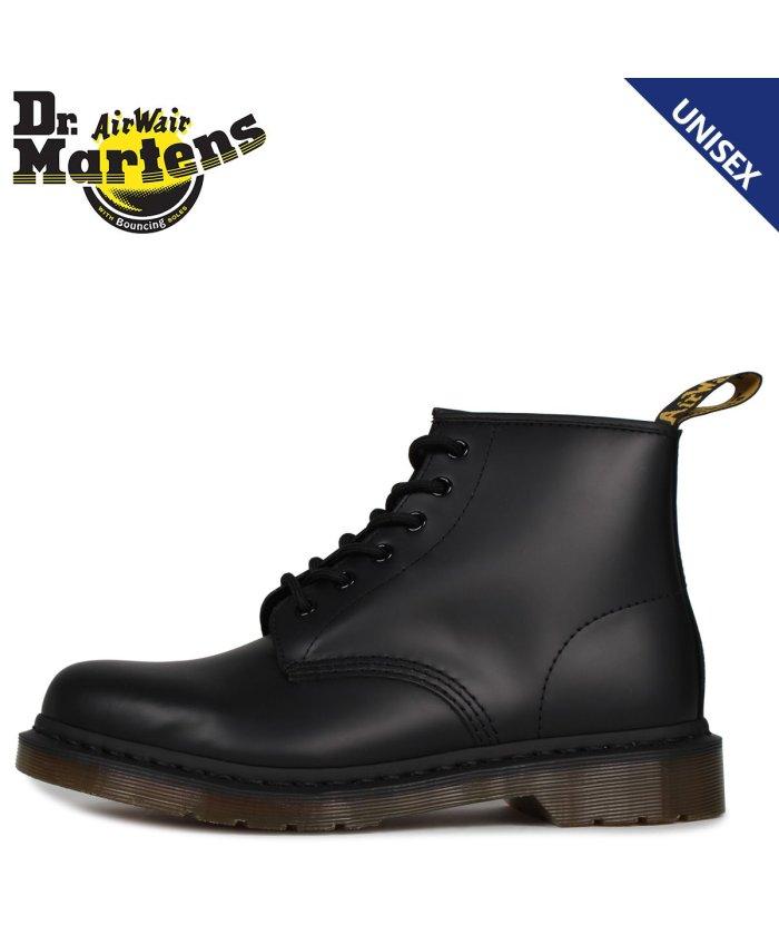 スニークオンラインショップ ドクターマーチン Dr. Martens 101 6ホール ブーツ メンズ レディース 6EYE BOOTS ブラック 黒 R24255001 ユニセックス その他 UK4-22.5-23.0 【SNEAK ONLINE SHO