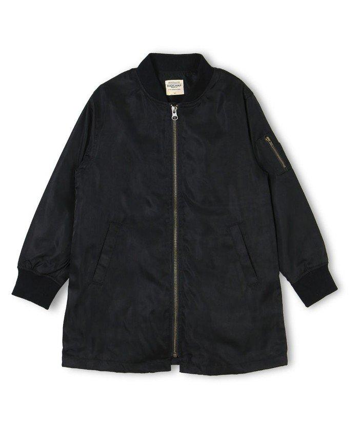 ブランシェス Aラインミリタリージャケット キッズ ブラック 110cm 【branshes】