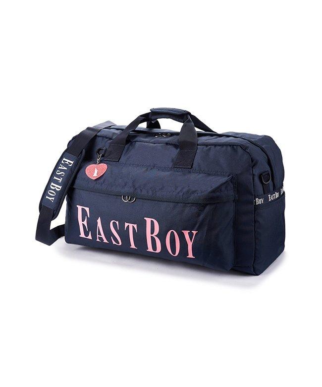 カバンのセレクション イーストボーイ ボストンバッグ 42L 修学旅行 林間学校 女子 女の子 軽量 大容量 小学生 キッズ かわいい EAST BOY eba19 レディース ネイビー フリー 【Bag & Luggage SELECTION】
