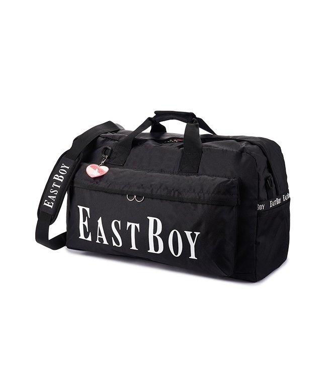カバンのセレクション イーストボーイ ボストンバッグ 42L 修学旅行 林間学校 女子 女の子 軽量 大容量 小学生 キッズ かわいい EAST BOY eba19 レディース ホワイト フリー 【Bag & Luggage SELECTION】