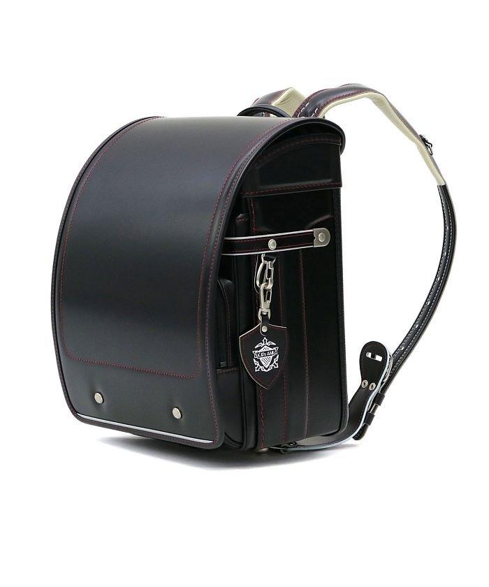 ギャレリア ランドセル 男の子 2021年 キッズアミ KIDS AMI ナース鞄工 フレンドリーレザー キューブ型 ウィング背カン A4フラットファイル対応 19006 キッズ ブラック系1 F 【GALLERIA】