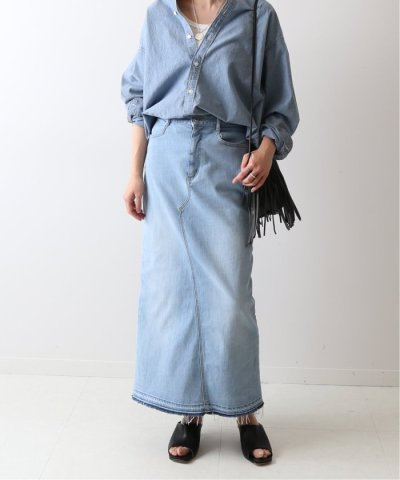 FRAMEWORK/ストレッチデニム切り替えタイトスカート◆/503701908