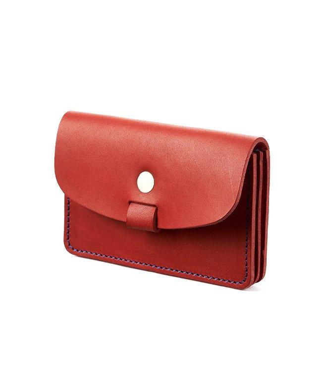 カバンのセレクション ツールズ 名刺入れ 本革 カードケース メンズ レディース TOOLS 333t06j ユニセックス レッド フリー 【Bag & Luggage SELECTION】
